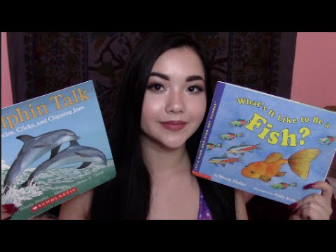 ASMR // Reading Fish Themed Children