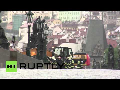 Czech Republic: Heavy rain and floods swallow Prague
