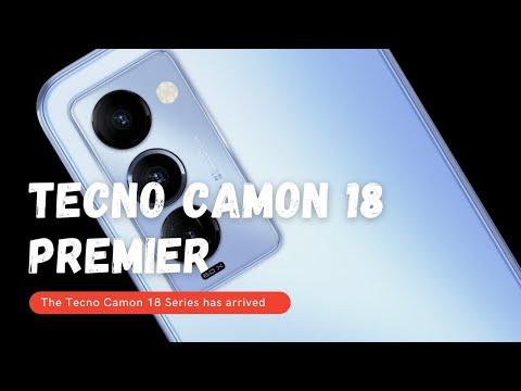 Tecno Camon 18 Premier is here
