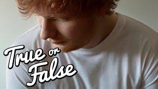ED SHEERAN QUIZ: Hat Ed Sheeran abgenommen? I True Or False