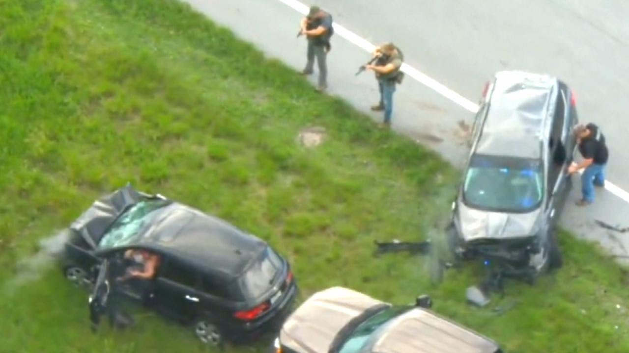 Deputy Shot At During Florida Car Chase Says He's Lucky to Be Alive