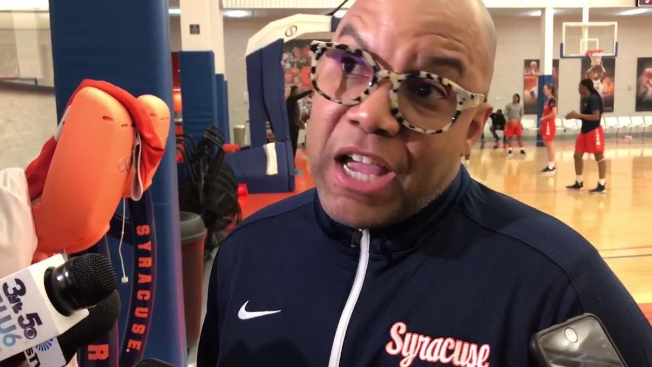 Syracuse Women S Basketball Head Coach Quentin Hillsman 1