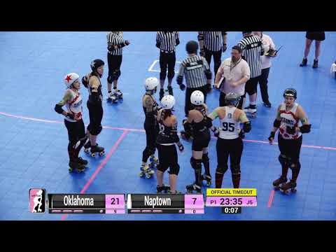 WFTDA Roller Derby - Division 2, Pittsburgh - Game 5 - Oklahoma vs. Naptown