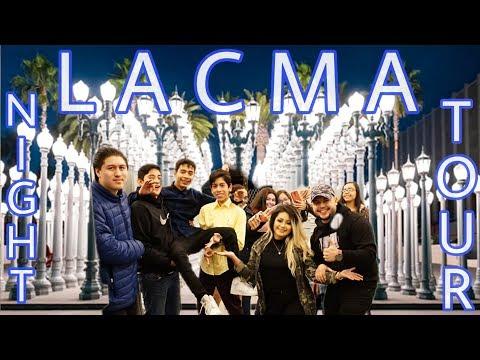 LACMA! Lights Night Walk Tour 2019 Los Angeles Museum Hollywood