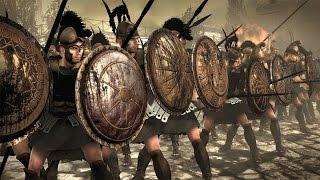 Отборные Гоплиты VS Присягнувшие Total War: Rome 2