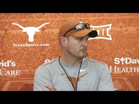 Tom Herman media availability [March 29, 2018]
