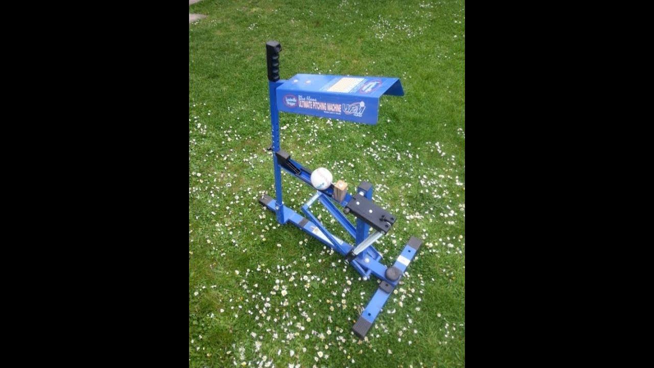louisville slugger upm 45 blue pitching machine
