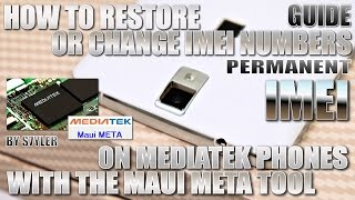 How to repair/change IMEI