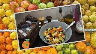 №25. Греческий салат с болгарским перцем