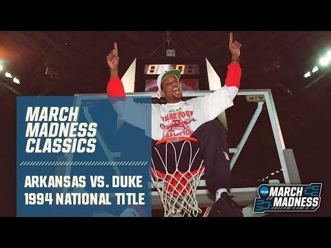 Arkansas Vs. Duke: 1994 National Championship | FULL GAME