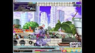 MapleStory Global -Big Bang NightWalker training at MP3 [Lv. 90]