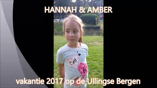 Vakantie Ullingse Bergen 2017 - Kidsvlog De Ullingse Bergen 12-08-2017