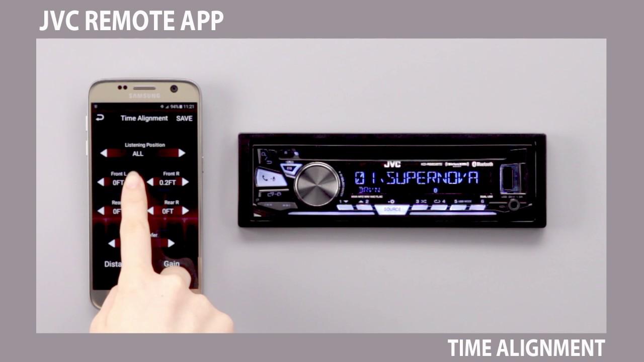 JVC RemoteApp for Bluetooth Car Receivers