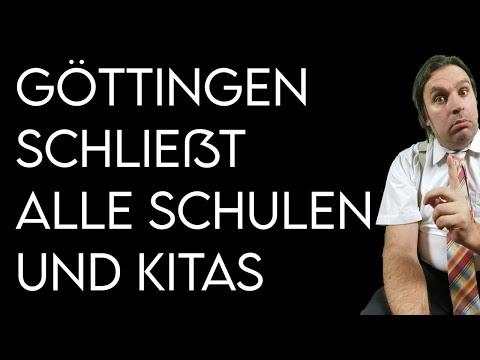Göttingen schließt alle Schulen und Kitas (vorerst bis Freitag)