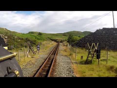 Ffestiniog Railway – Driver's Eye View – Blaenau Ffestiniog to Porthmadog (Wales)