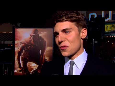 Riddick: Nolan Gerard Funk World Premiere Interview
