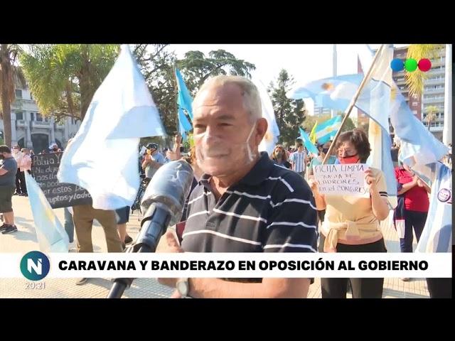 12-O: Santafesinos marcharon contra las medidas del gobierno