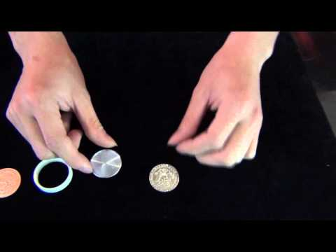 How It's Work Magic Scotch & Soda Magic Coin Trick - Half Dollar With Mexican Centavo - Trick
