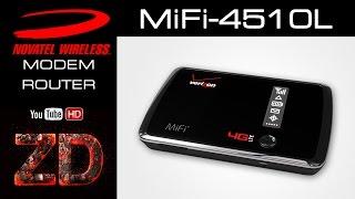 Смотреть видео Novatel MiFi 4082 - Обзор роутера