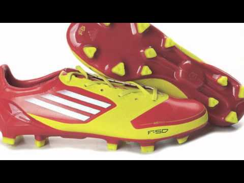 Adidas F50 adizero colores 2011 2012 Youtube