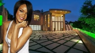 Rihanna's House in Pacific Palisades
