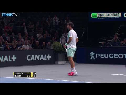 2016 BNP Paribas Masters Paris: Wednesday Highlights ft. Verdasco-Murray & Djokovic-Muller