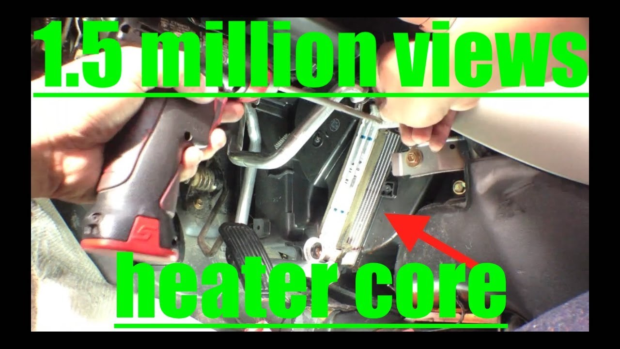medium resolution of diagnose replace heater core 01 06 toyota camry fix it angel youtube