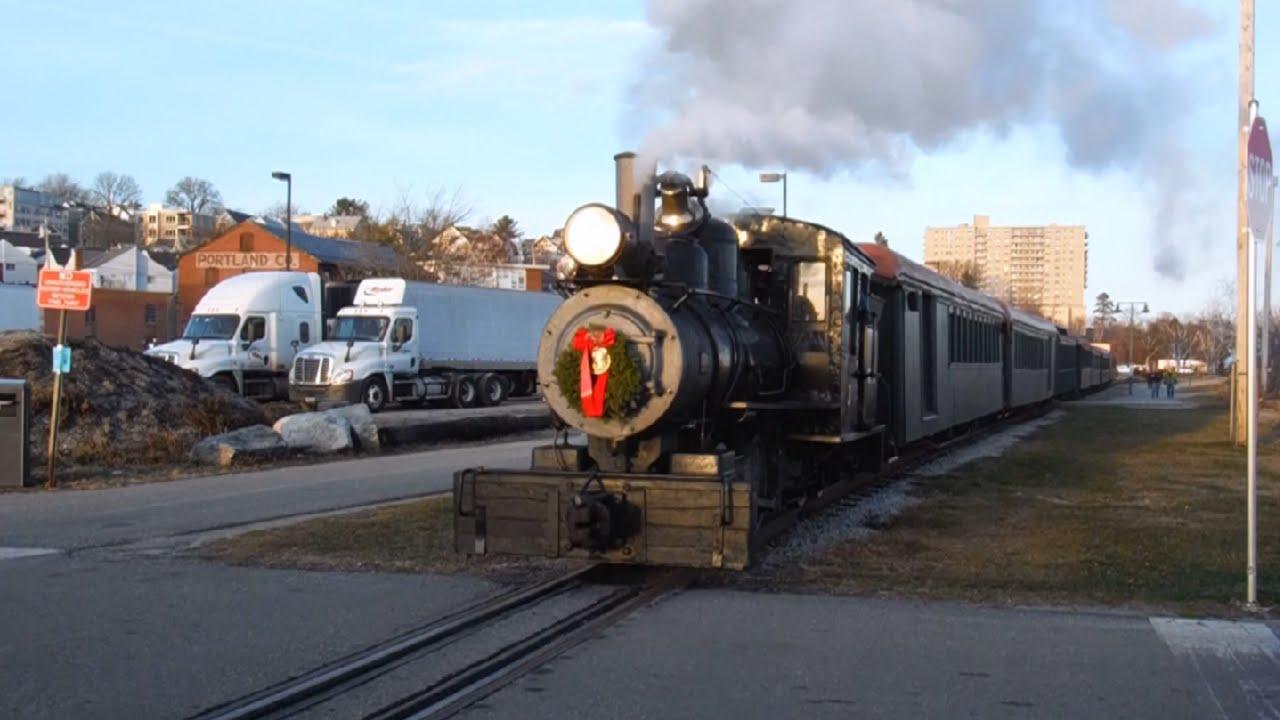 "Maine Narrow Gauge ""Polar Express"" | Portland, ME 12/12 ..."