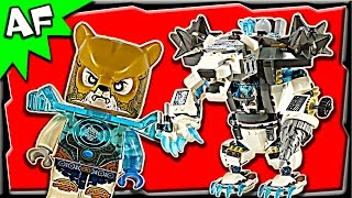 Lego Chima Icebite's CLAW DRILLER 70223 Stop Motion Build Review