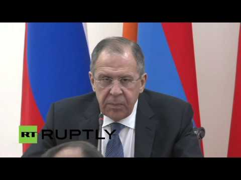 LIVE: Sergei Lavrov holds press conference with Armenian FM in Yerevan