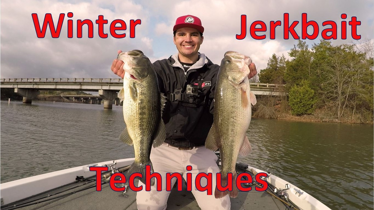 How To Fish Suspending Jerkbaits For Winter Bass Lake