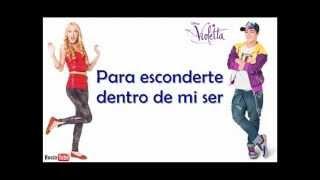 Ahí estaré - Violetta - Maxi y Ludmila - Lyrics