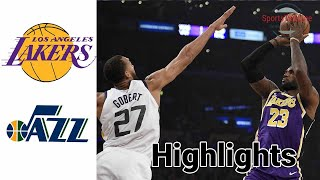 Lakers vs Jazz HIGHLIGHTS Full Game | NBA February 24