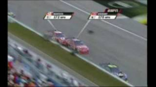 Tony Stewart and Jaun Pablo Montoya go to War Homestead 2009