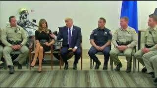 Trump Focuses on Bravery of Responders During Las Vegas Visit