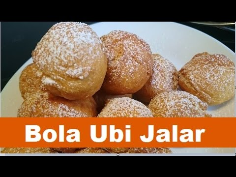 Resep Bola Ubi Jalar (Sweet Potatoes Balls Recipe) ขนมไข่นกกระทา