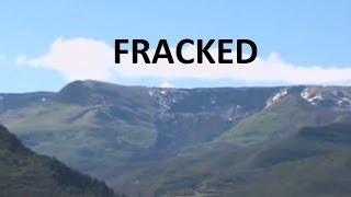 5/27/2014 -- Colorado 4 MILE LONG Landslide @ FRACKING operation