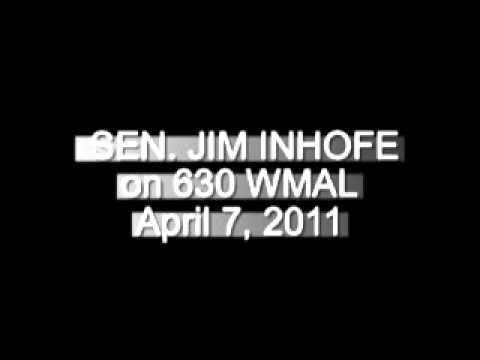 SEN. JIM INHOFE INTERVIEW