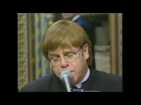 Elton John  Candle in the WindGoode Englands Rose  at Princess Dianas Funeral  1997