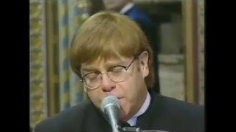 Elton John - Candle in the Wind/Goodbye England's Rose (Live at Princess Diana's Funeral - 1997)
