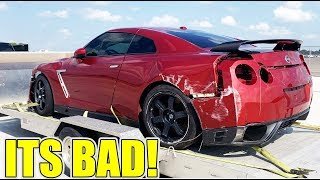 I Bought a Badly Wrecked Nissan GTR From the salvage Yard!