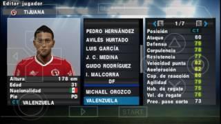 Pes 2016 Psp Liga Mexicana Actualizada