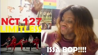 NCT 127 - 無限的我(무한적아; LIMITLESS) Rough + Performance Video REACTION [IT