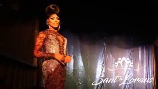 Traje de Noche de Sasha Fiercee en Miss Transformista Puerto Rico 2016