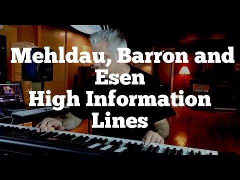 Brad Mehldau, Kenny Barron and Aydin Esen - High Information Lines