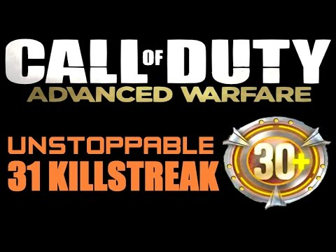 Advanced Warfare - UNSTOPPABLE 31 Killstreak on Defender! Tips and Tricks (CoD AW)