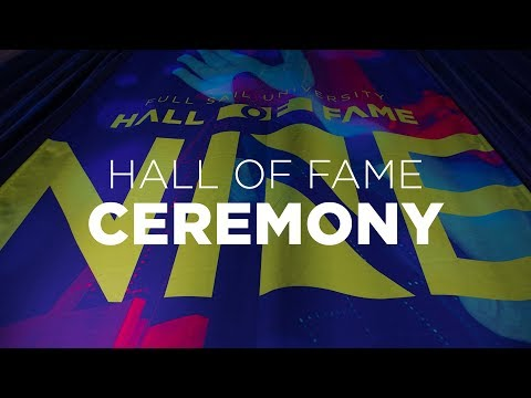 Full Sail University's 9th Annual Hall of Fame Induction Ceremony