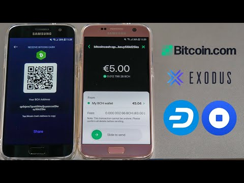 How To Use A Bitcoin Wallet | Full Demonstration (Exodus, Bitcoin.com Coinbase And Dash)