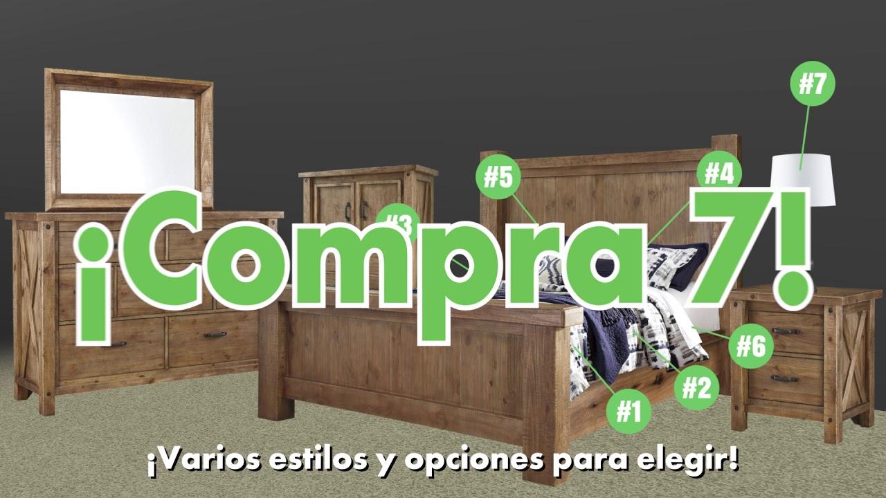 Wichita Furniture   ¡Compra 7, Obtén 7 Gratis!   Bedroom Group