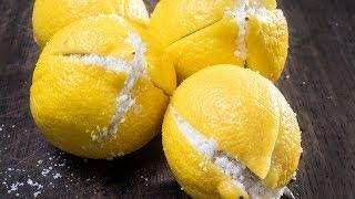 Warum du eine Zitrone mit Salz über Nacht neben das Bett stellen solltest!